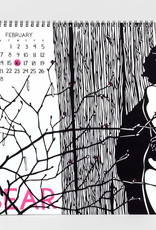 Nikki McClure 2022 Wall Calendar This is For You