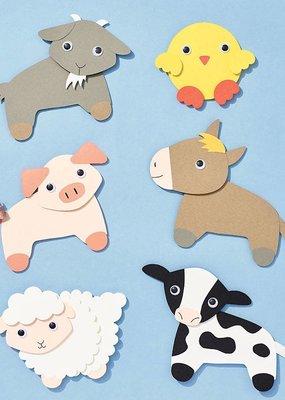 Waste Not Farm Animals Craft Kit
