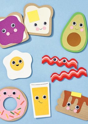 Waste Not Breakfast Foods Craft Kit