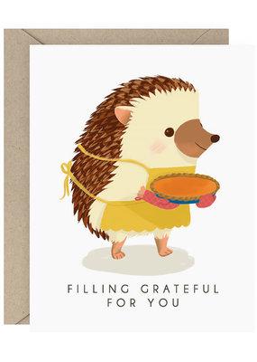 Waste Not Card Hog Pie