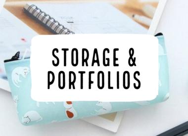 Storage & Portfolios