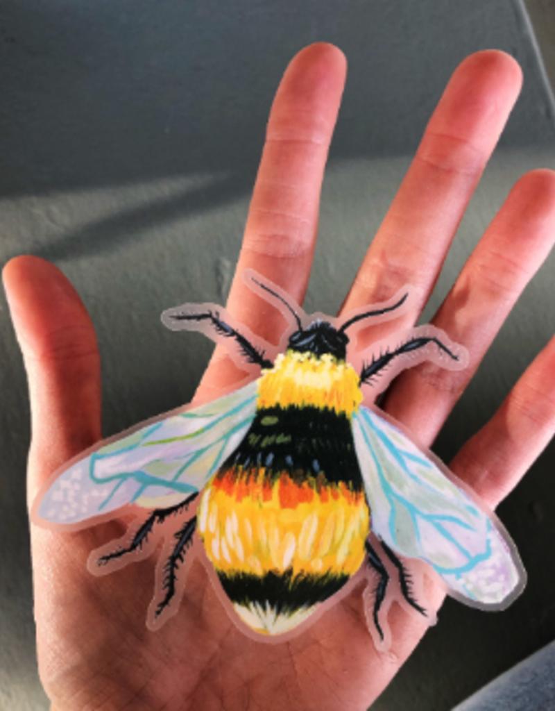 Katie Daisy Sticker Bee