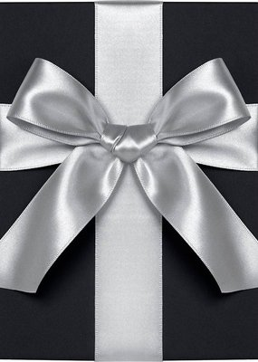 Waste Not Satin Ribbon 1 Inch Silver