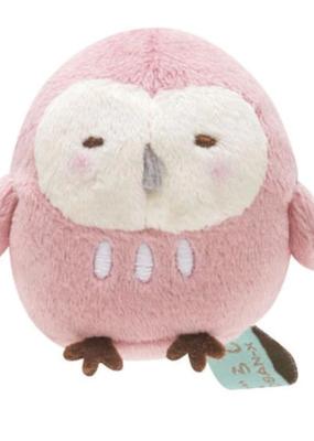 collage Plush Keychain Owl
