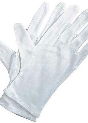 Art Alternatives White Cotton Gloves 4 Piece Pack