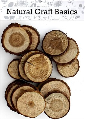Sierra Pacific Crafts Wood Slices assorted 1-3in