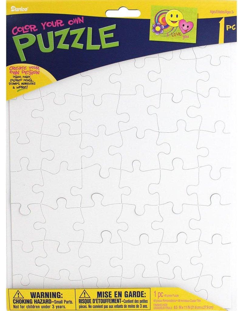 "Darice Create Your Own Puzzle 8.5"" x 11"""
