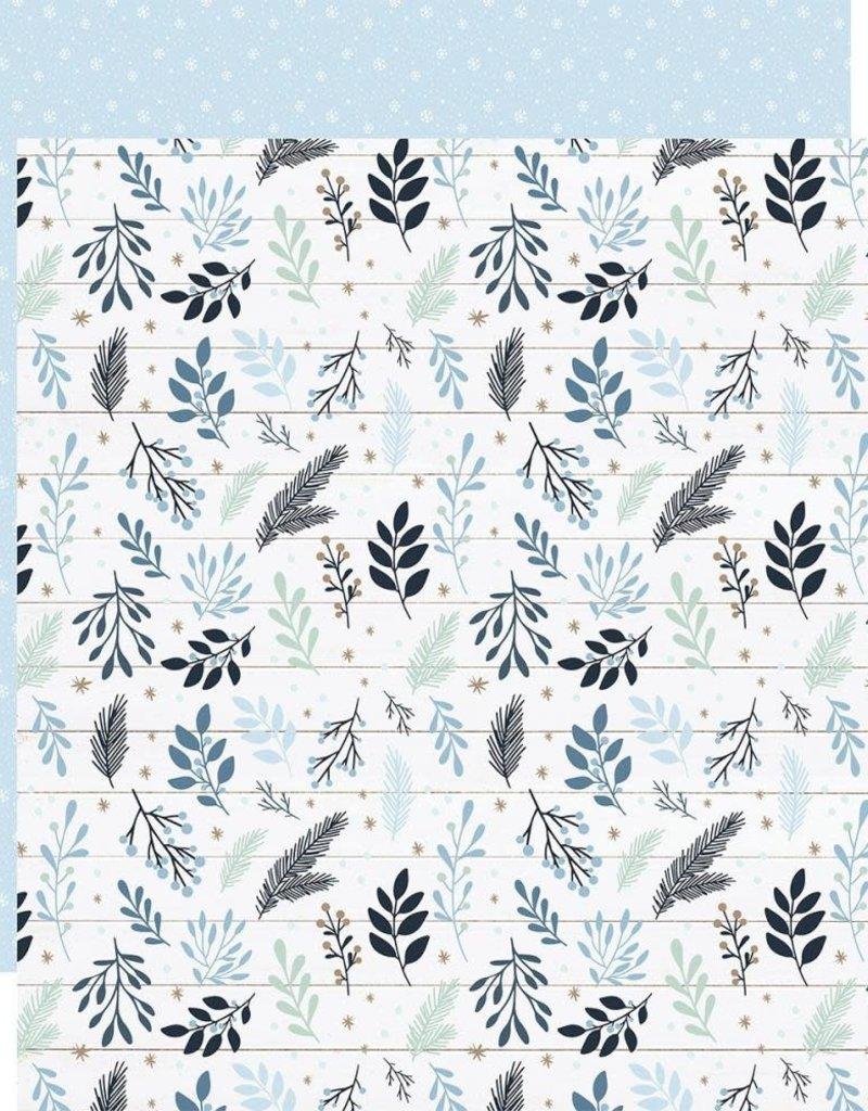 Echo Park Paper Co. 12 X 12 Decorative Paper Snowy Sprigs