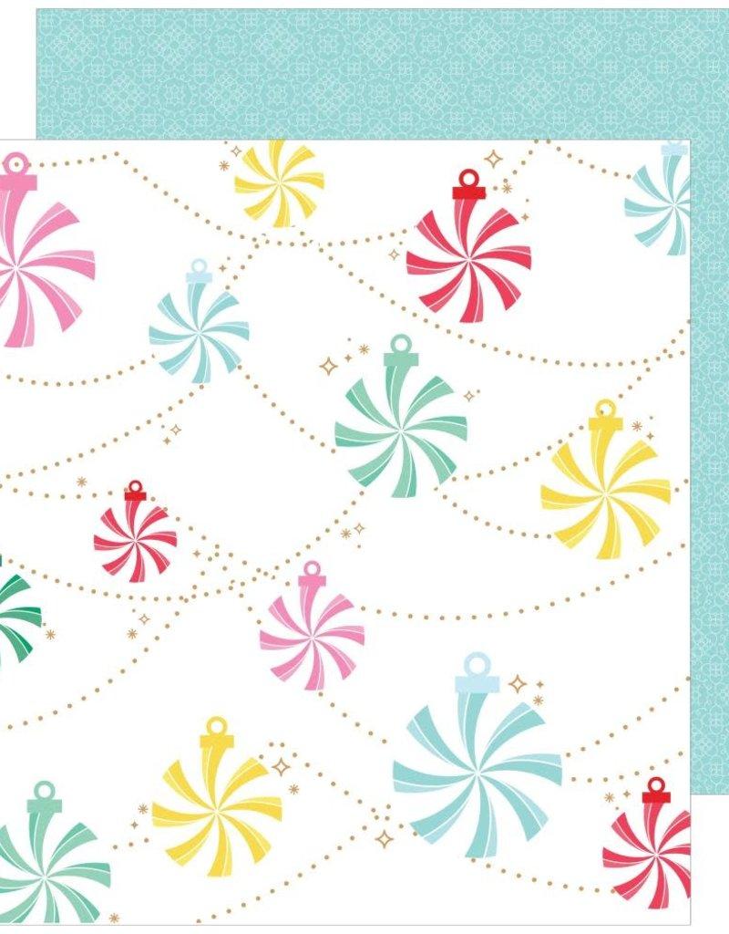 Pinkfresh 12 X 12 Decorative Paper Holiday Vibes