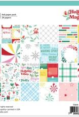 Pinkfresh 6 x 6 Paper Pad Holiday Magic