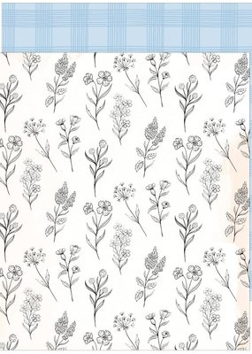 Pinkfresh 12 X 12 Decorative Paper Loved This Day