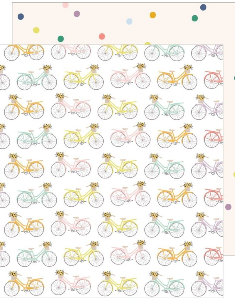 Pinkfresh 12 X 12 Decorative Paper Life's A Ride