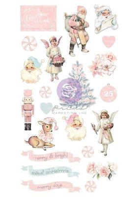 Prima Marketing Puffy Stickers Frank Garcia Christmas Sparkle