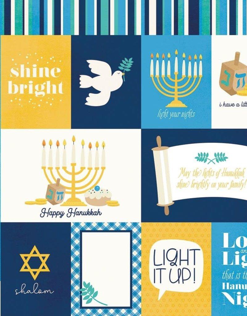 Simple Stories 12 X 12 Decorative Paper Hanukkah Element Cards