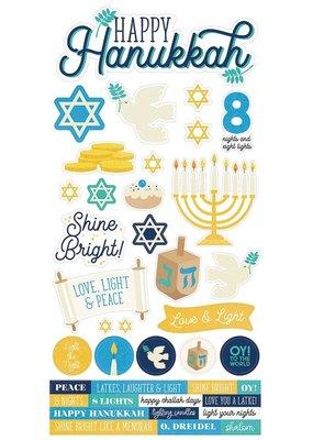 Simple Stories Happy Hanukkah Cardstock Stickers