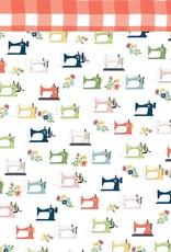 Carta Bella 12 x 12 Decorative Paper Sewing Machines