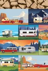 Carta Bella 12 x 12 Decorative Paper Camp Trailers