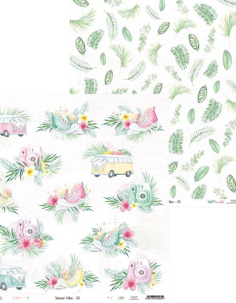 P13 12 X 12 Decorative Paper Summer Vibes 03