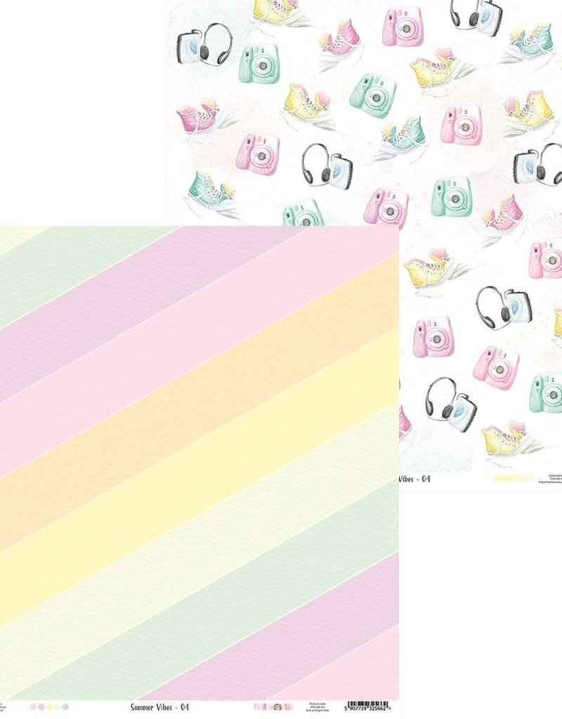 P13 12 X 12 Decorative Paper Summer Vibes 04