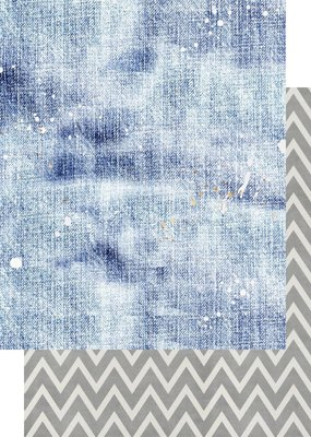 Asuka Studio 12 x 12 Decorative Paper Medium Washed