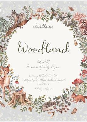 Craft Consortium 12 x 12 Woodland Paper Pad