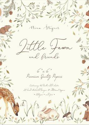 Craft Consortium 6 x 6 Little Fawn & Friends Paper Pad