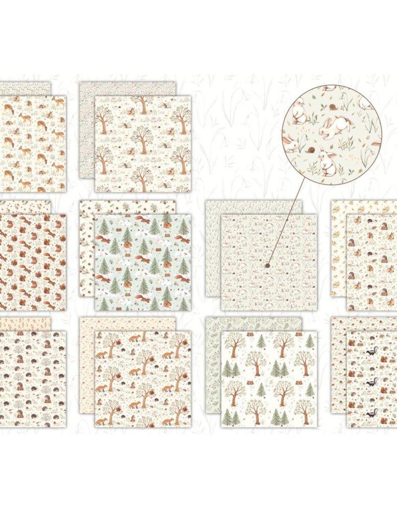 Craft Consortium 12 x 12 Little Fawn & Friends Paper Pad