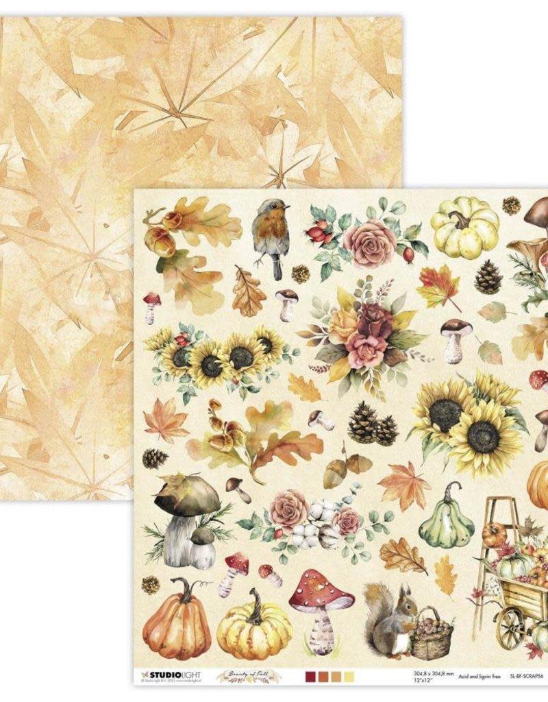 Studio Light 12 x 12 Decorative Paper Beauty of Fall 56