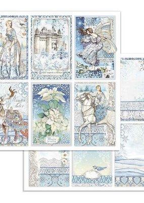 Stamperia 12 x 12 Decorative Paper Winter Tales