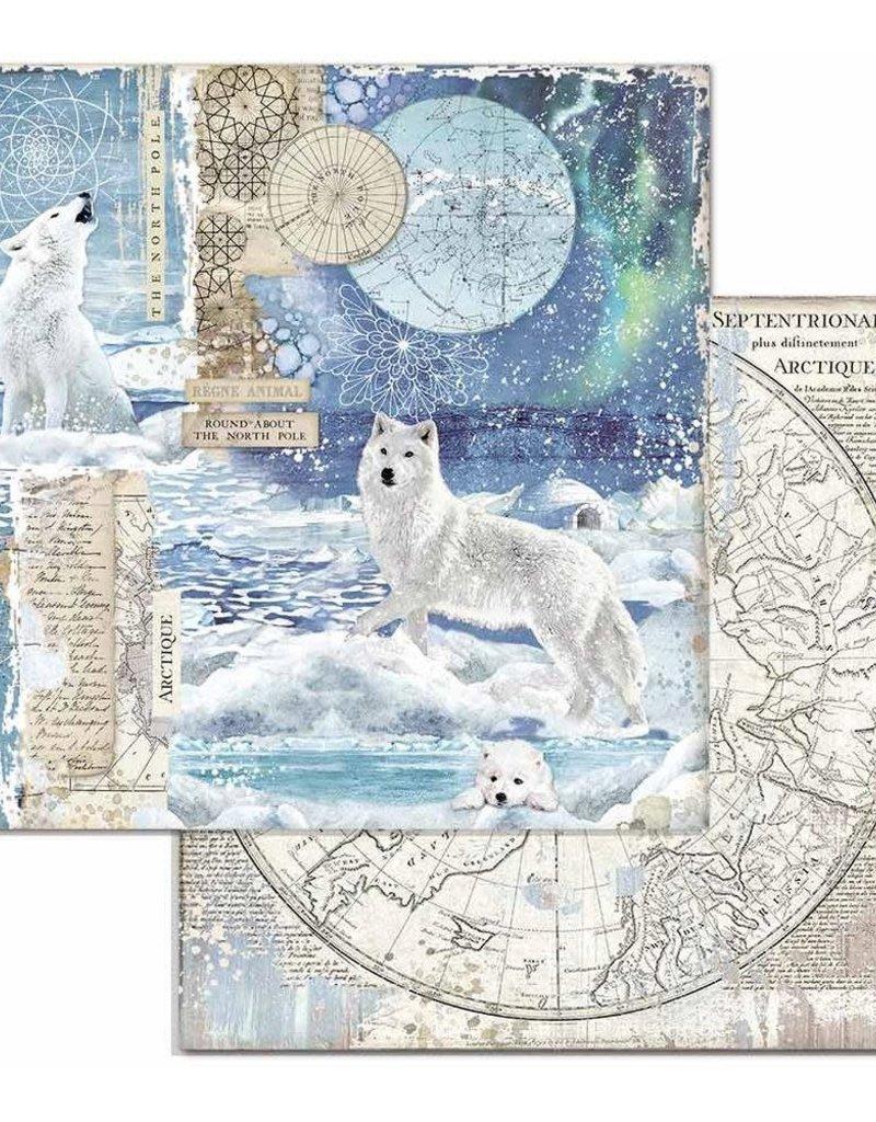 Stamperia 12 x 12 Decorative Paper Wolf