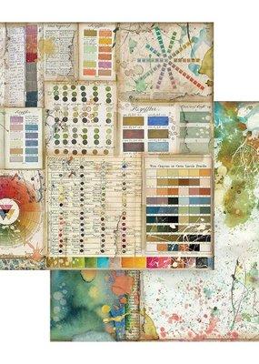 Stamperia 12 x 12 Decorative Paper Pantone