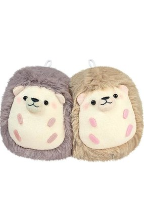 CRUX Plush Hedgehog Buddies Charm Pair