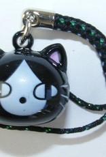Bell Charm Black Cat