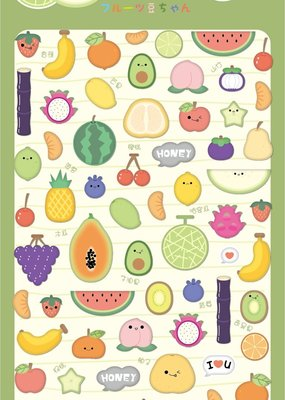 Stickers Fruit