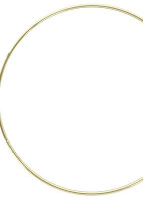 Darice Metal Ring Brass 8 Inch