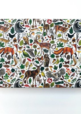 Alexia Claire Ltd. Wrapping Paper Sheet Woodland Animals