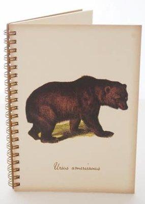 Semaki Bird Journal Bear