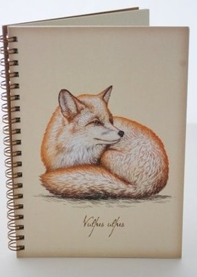 Semaki Bird Journal Fox
