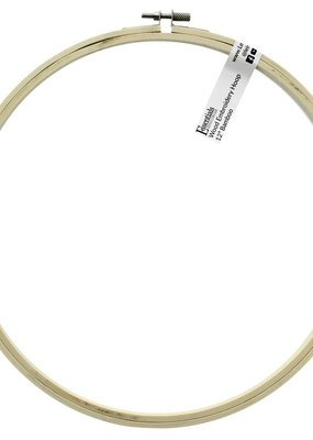 Leisure Arts Bamboo Embroidery Hoop 12 Inch