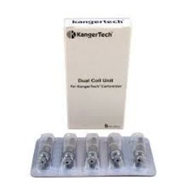 Kangertech Box of 5 KangerTech Dual Coil Unit 1.8 ohm