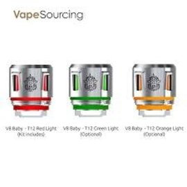 SMOK Smok V8 Baby T12 Light Edition .15ohm Coils-Green- Price per coil