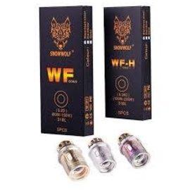 Sigelei Box of 5 Sigelei SnowWolf WF-H Coils
