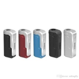 YoCan Yocan UNI Universal Portable Mod 650mAh Variable voltage box mod- Black/Silver
