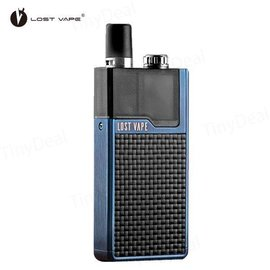 Lost Vape Lost Vape Orion Dna GO 40W 950mAh Pod System- Blue Textured Carbon Fiber