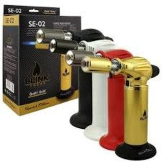 Blink Torch Blink Torch -Gold- Refillable Blue Flame Butane Lighter