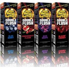 High Voltage High Voltage Detox Double Flush 16oz  - Pomegranate