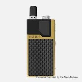 Lost Vape Lost Vape Orion Dna GO 40W 950mAh Pod System- Gold Textured Carbon Fiber
