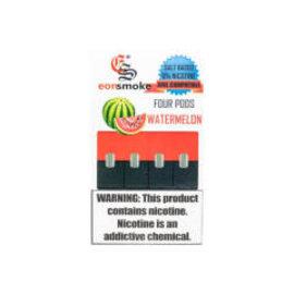Eonsmoke Eonsmoke Prefilled Nic Salt- Juul Pods- Watermelon 6%-4 pods per pack
