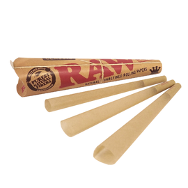 Raw RAW Cone Rolling Papers- 1 1/4 size - Original-Price per pack