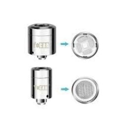 YoCan Box of 5 Yocan Loaded Quartz Dual Replacement Coil